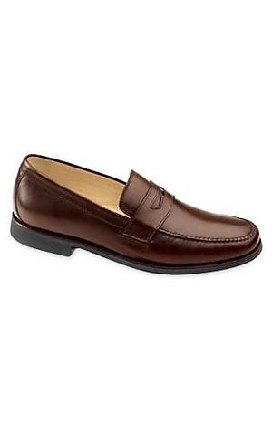 Men's Shoes, Ainsworth Penny Shoe by Johnston and Murphy - Jos A Bank