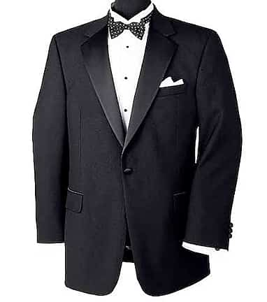 32507b7a22f Executive Collection Traditional Fit Tuxedo Separate Jacket - Big & Tall  CLEARANCE #3EUH