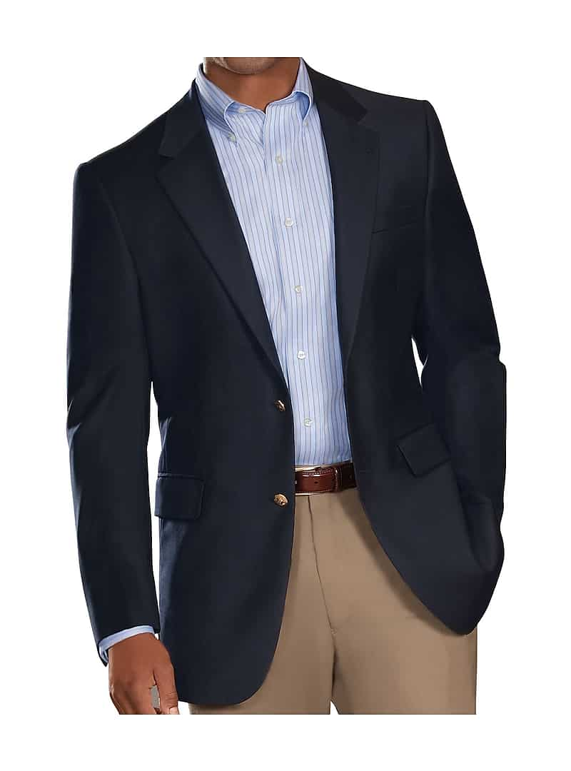 Signature Collection Traditional Fit Blazer