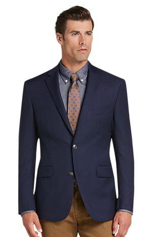Men's SportCoats, Traveler Collection Tailored Fit Utility Sportcoat - Jos A Bank