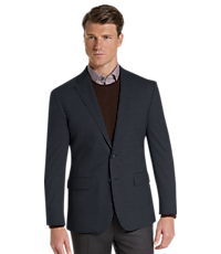 Travel Tech Collection Slim Fit Check Sportcoat