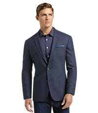 1905 Collection Slim Fit Check Sportcoat with brrr comfort
