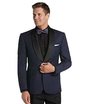 Jos. A. Bank Tailored Fit Birdseye Dinner Jacket