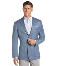 1905 Collection Herringbone Tailored Fit Sportcoat with brrr comfort
