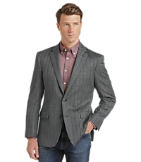 Men's SportCoats, 1905 Collection Slim Fit Herringbone Sportcoat with brrr° comfort - Jos A Bank