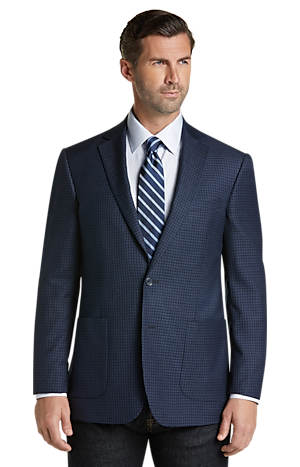 Men's Clearance, Reserve Collection Tailored Fit Check Sportcoat CLEARANCE - Jos A Bank