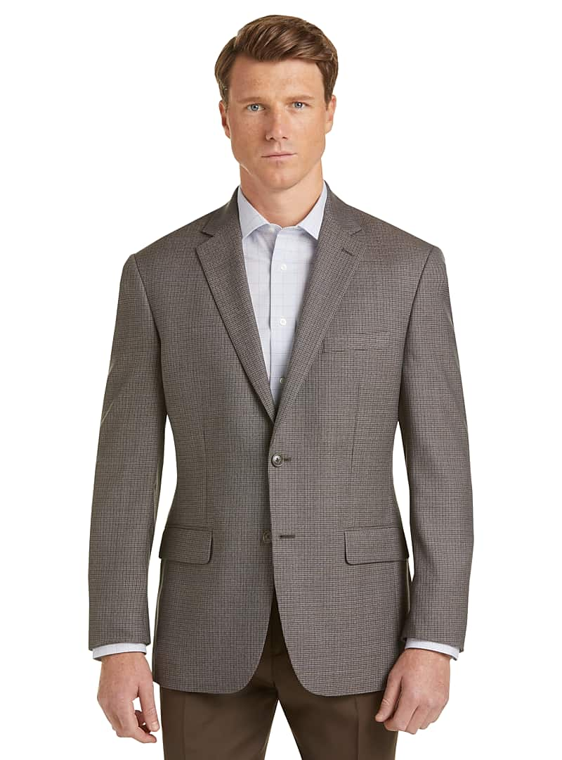 Executive Collection Traditional Fit Check Sportcoat