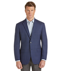 Men's SportCoats, Executive Collection Traditional Fit Plaid Sportcoat - Jos A Bank