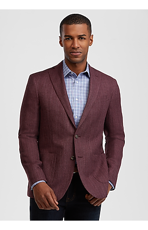 1905 Collection Slim Fit Textured Sportcoat with brrr°? comfort