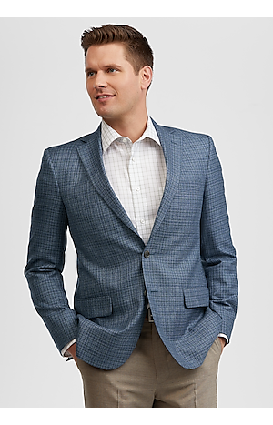 Men's SportCoats, Reserve Collection Tailored Fit Check Sportcoat - Jos A Bank