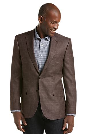 Men's SportCoats, Reserve Collection Tailored Fit Textured Weave Sportcoat - Jos A Bank