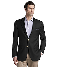 Men's SportCoats, Signature Collection Traditional Fit Solid Blazer - Jos A Bank
