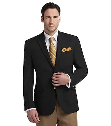 9d501bbad Executive Collection Traditional Fit Blazer CLEARANCE - All ...