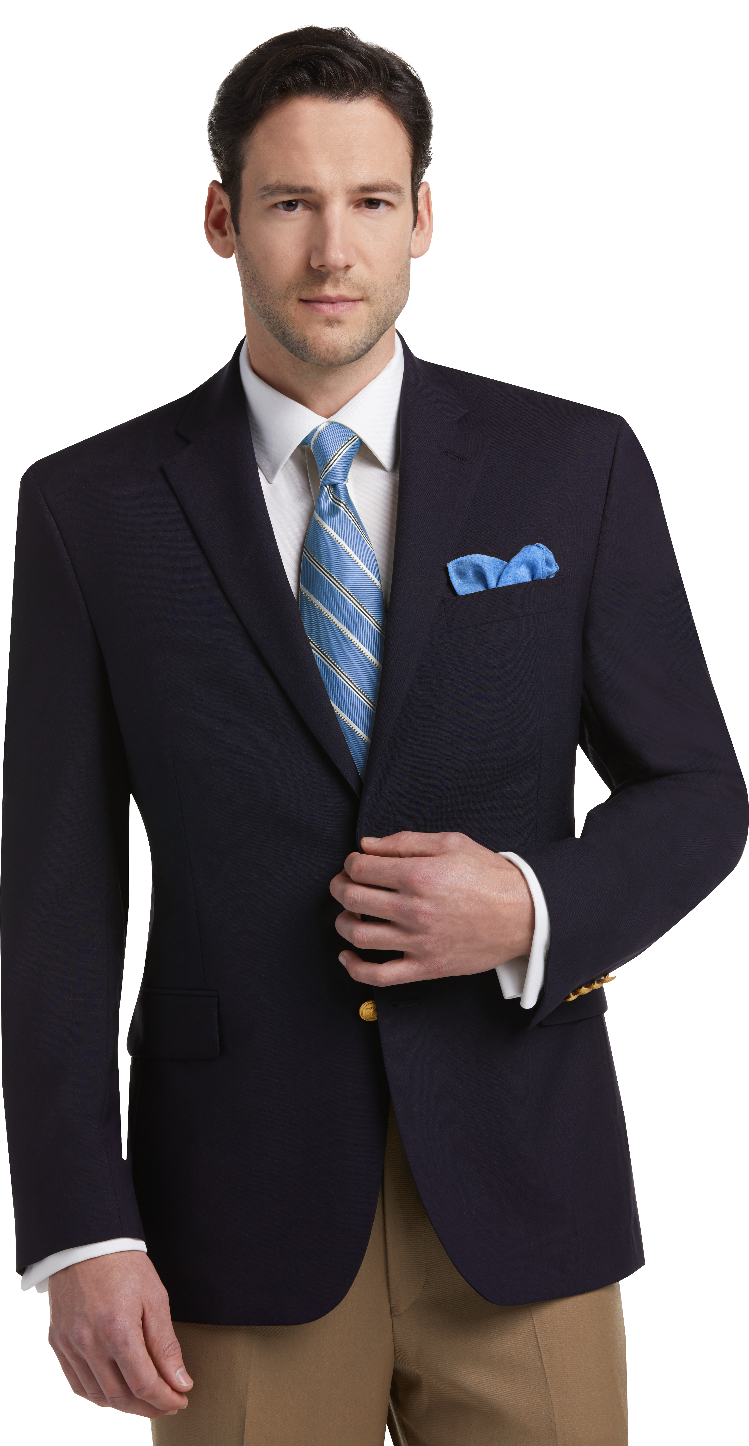 Executive Collection Traditional Fit Blazer