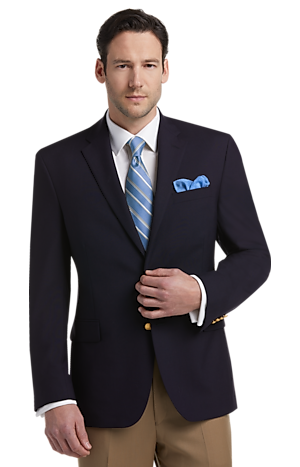 Executive Collection Traditional Fit Blazer - Big & Tall