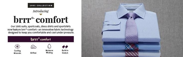 6e4100e845 Brrr Comfort Dress Shirts | Men's Dress Shirts | JoS. A. Bank