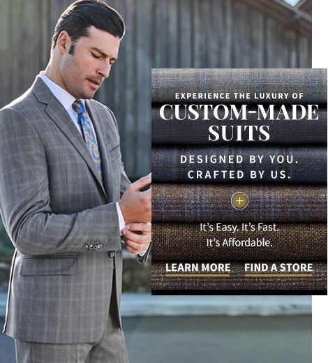 313c50191 Shop Men's Suits & Clothing | Expert in Men's Apparel since 1905 ...