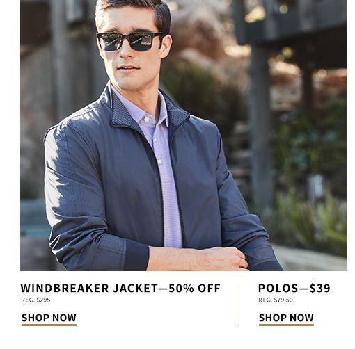 0b467c364c  39 Polos and 50% Off Windbreaker Jacket