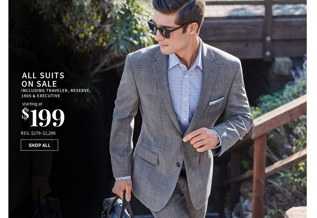 8438093cde4 Shop Men s Suits   Clothing