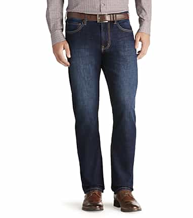 8298dd3011be Joseph Abboud Classic Fit Dark Wash Jeans - All Pants | Jos A Bank