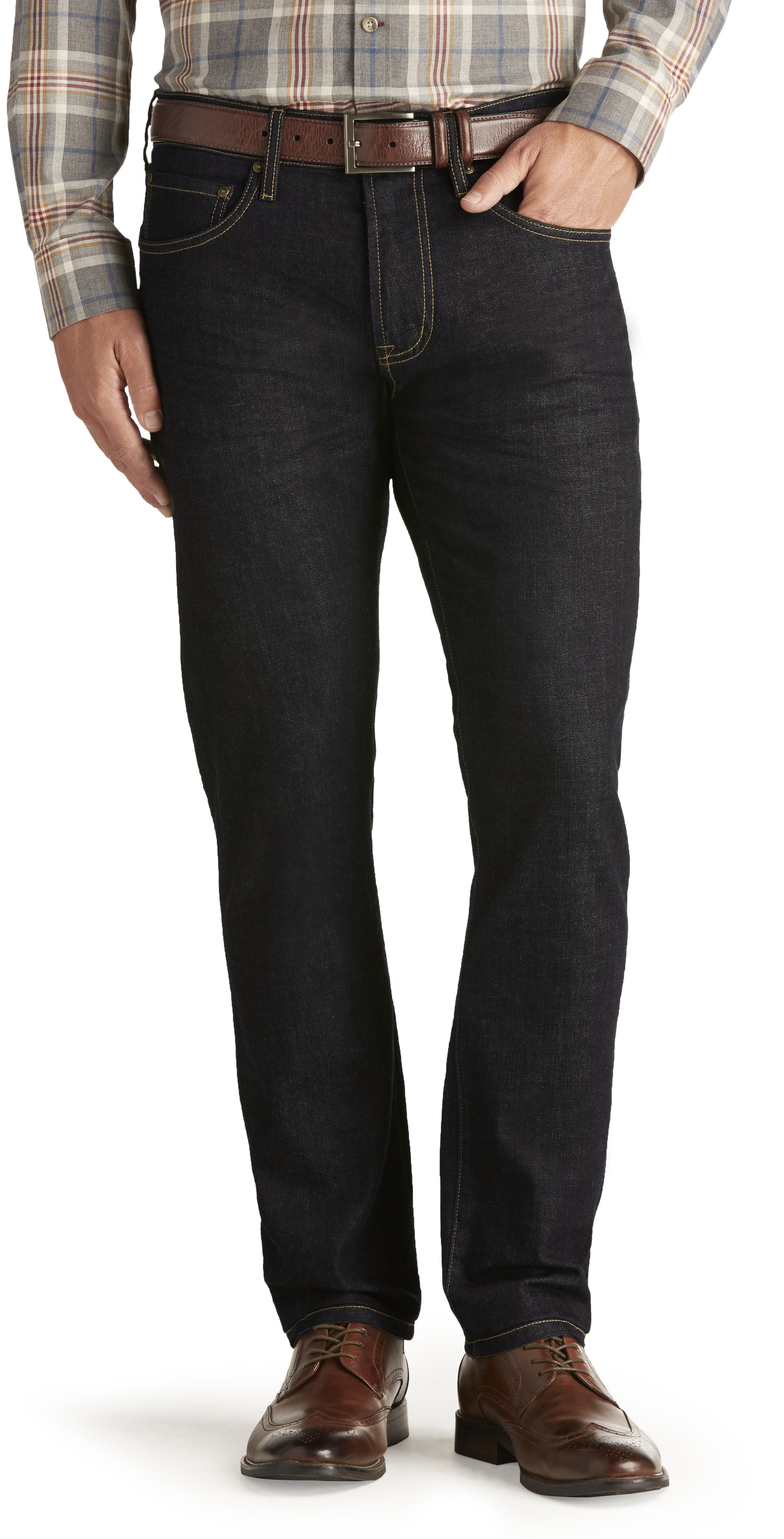 a77b1285b7f Joseph Abboud Slim Fit Dark Wash Jeans CLEARANCE - All Clearance | Jos A  Bank