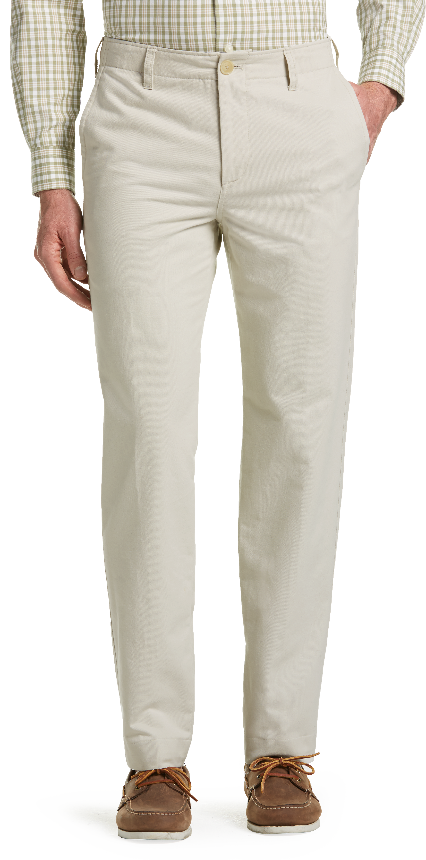 Joseph Abboud Tailored Fit Chino Pants (Stone / Tan)