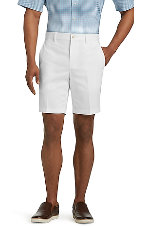 Men's FLYOUT_CATEGORY, Traveler Collection Tailored Fit Twill Shorts - Big & Tall - Jos A Bank