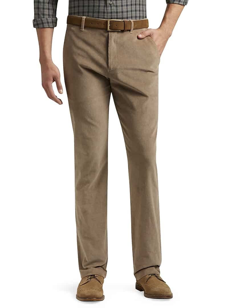 Jos. A. Bank Men's Reserve Collection Tailored Fit Corduroy Pants