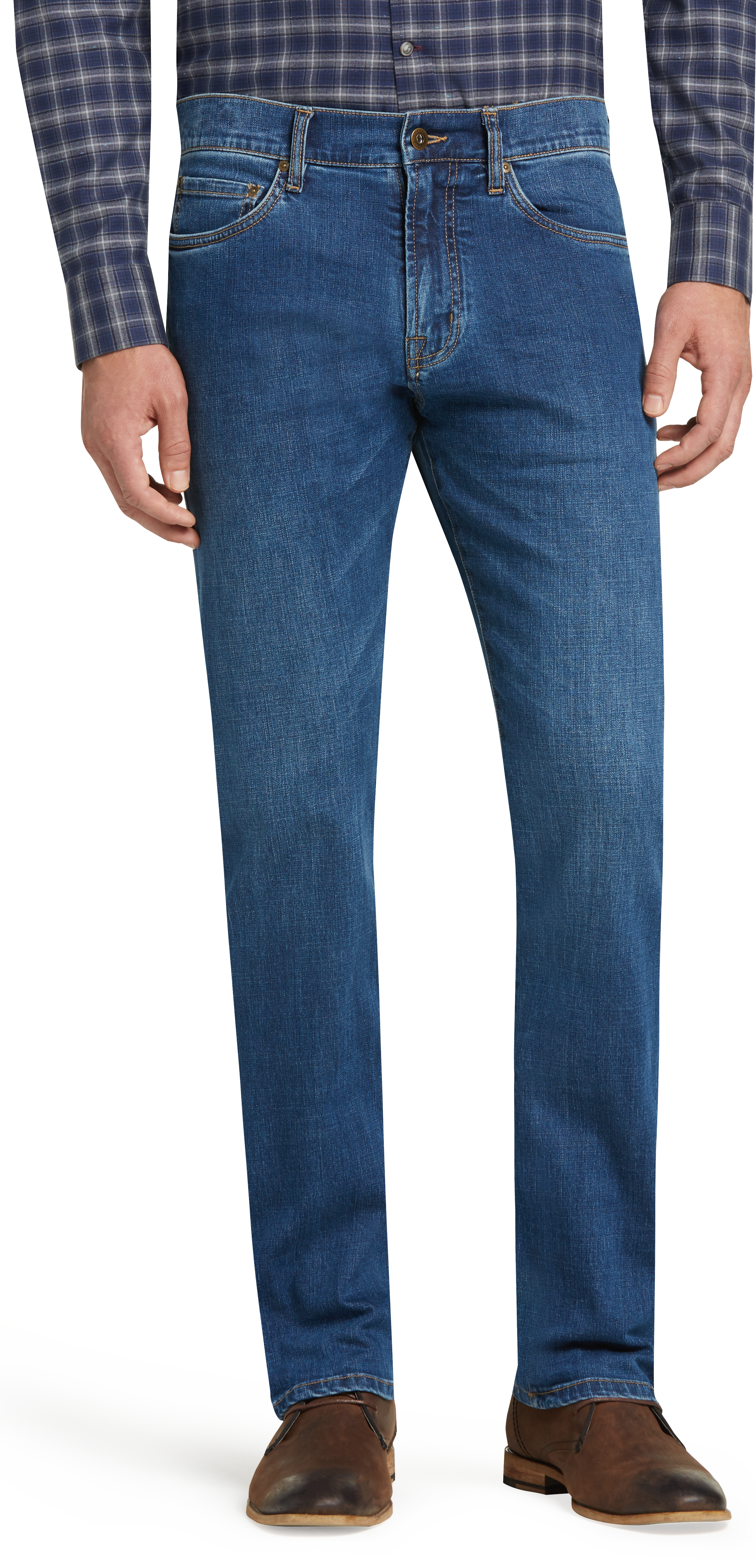 4825474d635 Reserve Collection Traditional Fit Jeans - All Pants | Jos A Bank