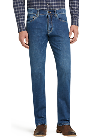 Men's Special Categories, Reserve Collection Traditional Fit Jeans - Jos A Bank