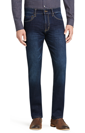 Men's Special Categories, Reserve Collection Traditional Fit Jeans - Big & Tall CLEARANCE - Jos A Bank