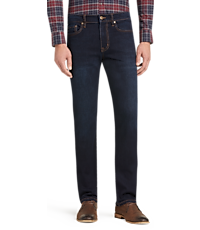 Men's Pants, 1905 Collection Tailored Fit Jeans - Jos A Bank