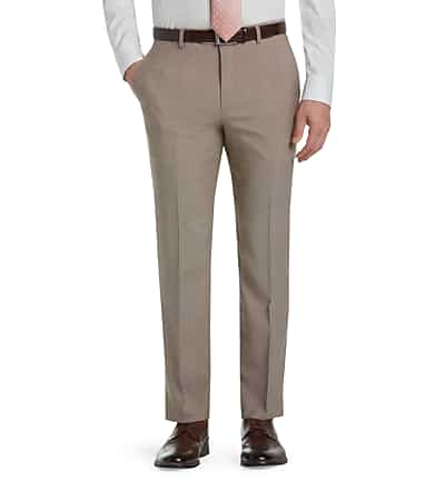 34fb5a5c878 Signature Collection Tailored Fit Flat Front Dress Pants- Big   Tall  CLEARANCE  214V