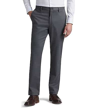 483ef8e96c13c Reserve Collection Tailored Fit Flat Front Chino Pants - Get Ready ...