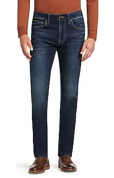 2-Pack Reserve Collection Traditional Fit Dark Wash Jeans