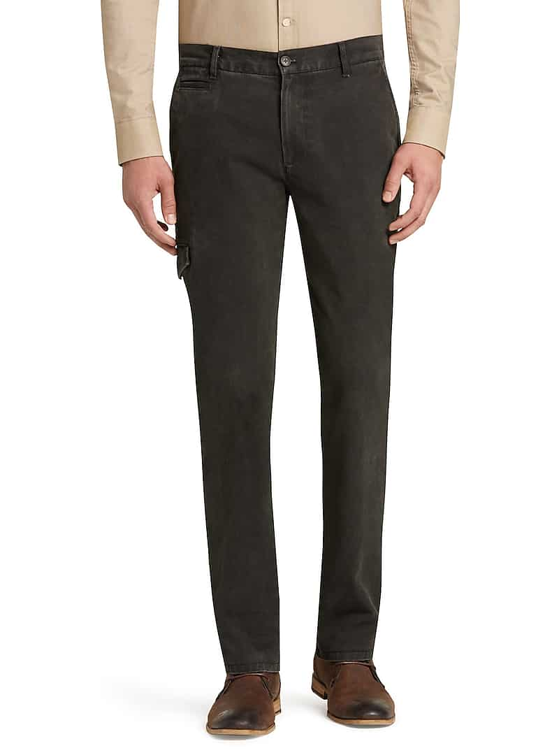 Jos. A. Bank Men's 1905 Collection Tailored Cotton Canvas Pants