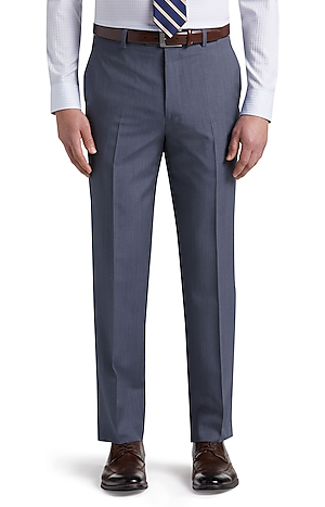 Men's Clearance, Reserve Collection Tailored Fit Flat Front Dress Pants CLEARANCE - Jos A Bank