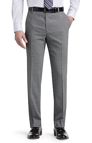 Men's Clearance, 1905 Collection Tailored Fit Flat Front Dress Pants - Big & Tall CLEARANCE - Jos A Bank
