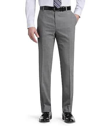 66b2386f3cf 1905 Collection Tailored Fit Flat Front Dress Pants - All Pants ...