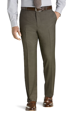 Men's Clearance, Travel Tech Slim Fit Flat Front Pants - Big & Tall CLEARANCE - Jos A Bank