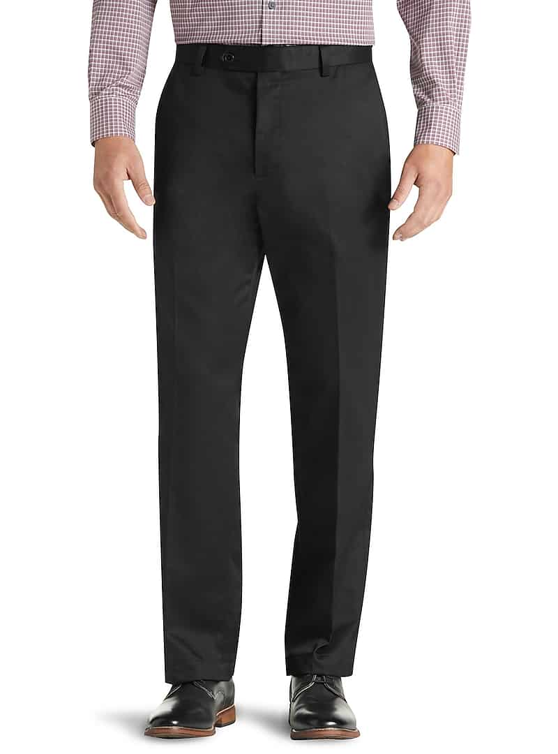 Traveler Collection Original Fit Flat Front Twill Pants (various colors)
