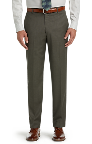 Men's FLYOUT_CATEGORY, Executive Collection Tailored Fit Flat Front Dress Pants - Big & Tall - Jos A Bank