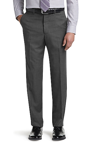 Men's Clearance, Reserve Collection Tailored Fit Flat Front Dress Pants - Big & Tall CLEARANCE - Jos A Bank
