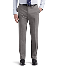 1905 Collection brrr° comfort Tailored Fit Flat Front Dress Pants by JoS. A. Bank