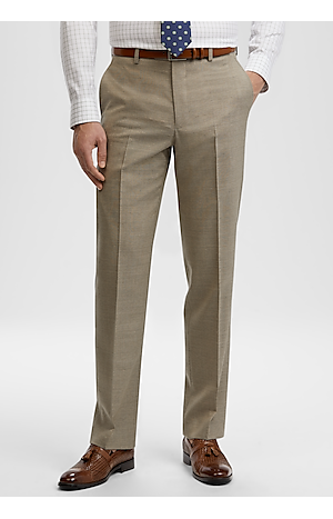 Men's Special Categories, Reserve Collection Tailored Fit Flat Front Dress Pants - Jos A Bank