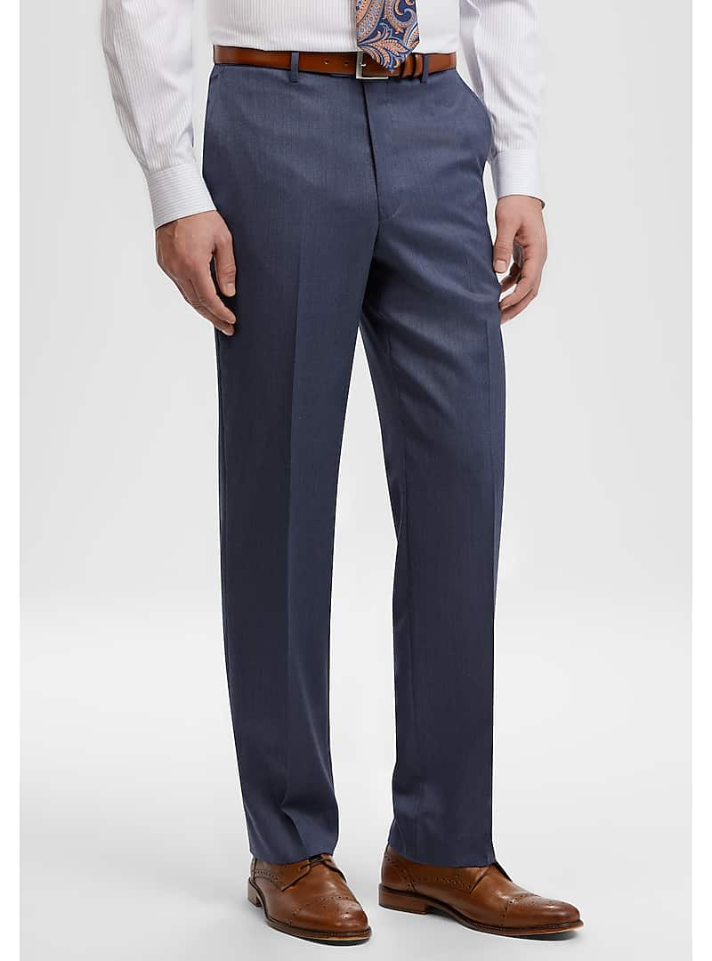 Reserve Collection Tailored Fit REDA 1865 SustainaWool? Dress Pants