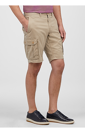 Men's Pants, 1905 Collection Tailored Fit Flat Front Cargo Shorts - Jos A Bank
