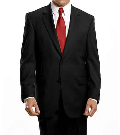 13bcf47f0eb7 Signature Collection Traditional Fit Suit with Pleated Front Pants  CLEARANCE #3JAF