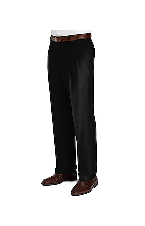 Men's Clearance, Signature Collection Traditional Fit Pleated Front Dress Pants CLEARANCE - Jos A Bank
