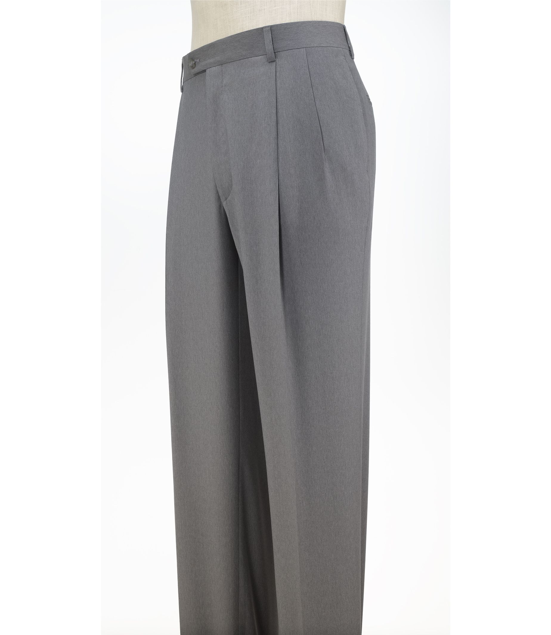 98a2c1038432 Signature Collection Traditional Fit Pleated Front Dress Pants CLEARANCE   2J94